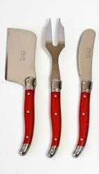Laguiole cheese knife set